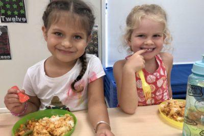 Healthy kindergarten food